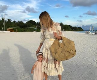 lena perminova daughter instagram