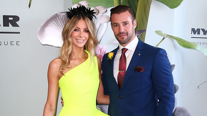 Jennifer Hawkins And Kris Smith At 2015 Melbourne Cup