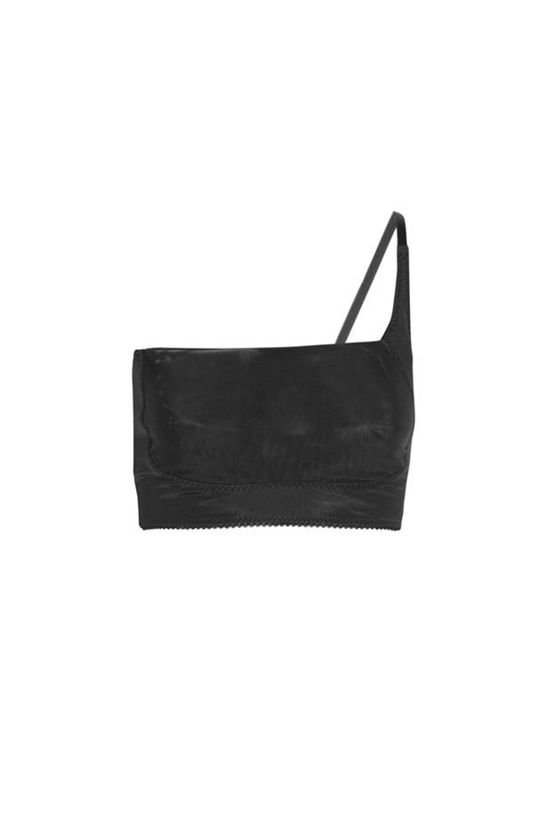 "Bra, $124, <a href=""https://www.net-a-porter.com/au/en/product/417346/dmondaine/ava-adjustable-one-shoulder-bra"">Dmondaine at net-a-porter.com</a>."