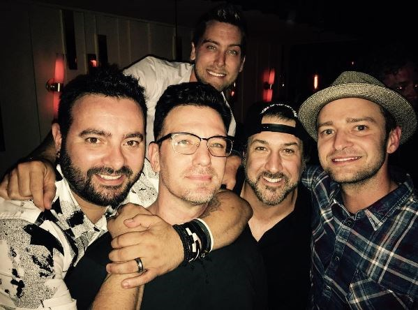 NSYNC Reunion Photo 2016