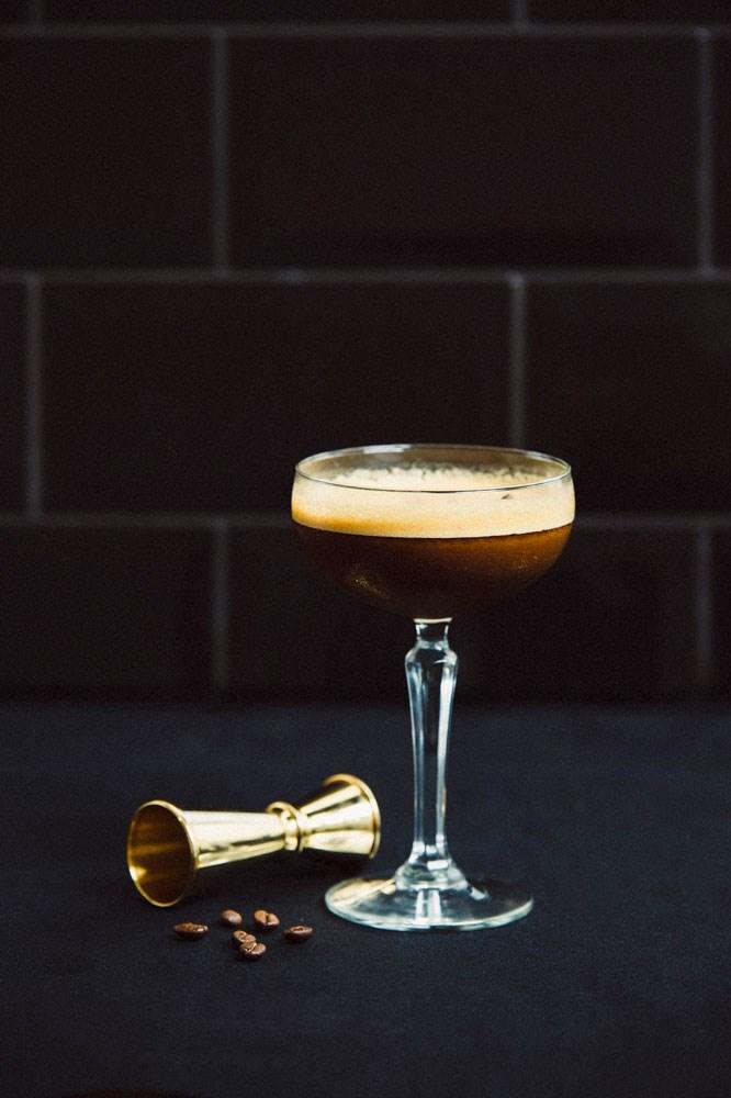 smoked rum espresso martini cocktail recipe
