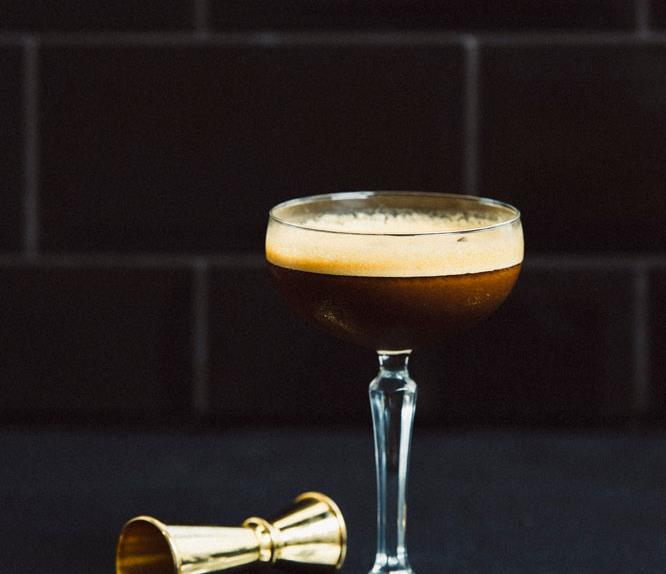 smoked rum espresso martini cocktail recipe