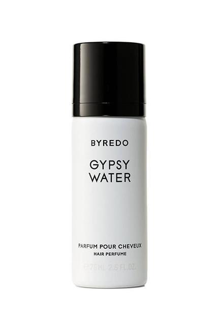 "Hair Perfume Gypsy Water, $67, <a href=""http://mecca.com.au/byredo/hair-perfume-gypsy-water/I-021363.html?cgpath=brands-byredo"" target=""_blank"">Byredo at mecca.com.au</a>."