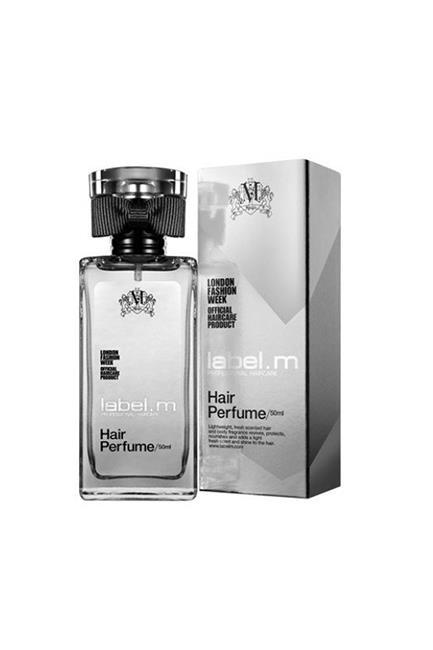 "Hair Perfume, $39.95, <a href=""http://www.myhaircare.com.au/Hair_Perfume_4310.html"" target=""_blank"">Label M at myhaircare.com.au</a>."