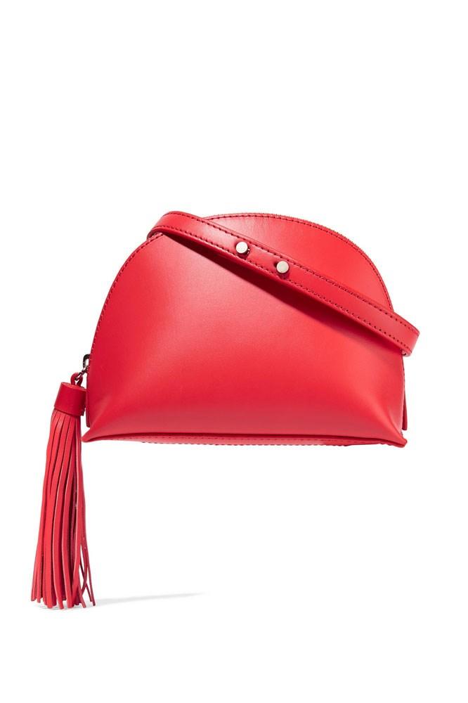 """<strong>Loeffler Randall</strong><br> <a href=""""https://www.net-a-porter.com/au/en/product/743906/Loeffler_Randall/tasseled-leather-shoulder-bag"""">Bag, $308, Loeffler Randall at net-a-porter.com</a>"""