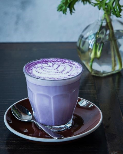 "<p><b>What:</b> Hot taro latte <p><b>Where:</b> The Local Mbassy in Sydney <p><b>Details:</b> This purple winter special, also from The Local Mbassy, has a ""nutty vanilla-like taste."" I mean, it's purple. <p><a href=""https://www.instagram.com/p/BI4YjWdh5KE/?taken-by=localmbassy"" target=""_blank"">Instagram.com/localmbassy</a>"