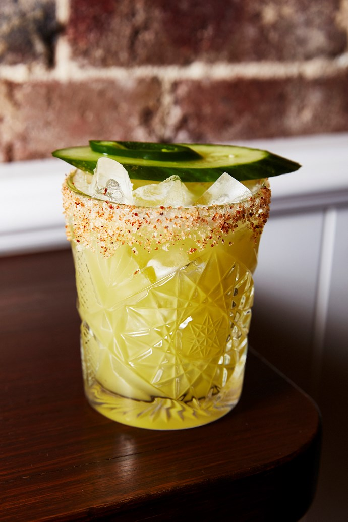 Tequila Mockingbird cocktail.