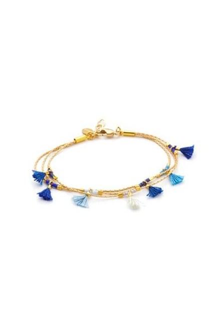"Olivia Bracelet, approx. $55, <a href=""https://www.shopbop.com/olivia-bracelet-shashi/vp/v=1/1566944398.htm?folderID=2534374302163291&fm=other-shopbysize-viewall&os=false&colorId=17689"" target=""_blank"">Shashi at shopbop.com</a>."