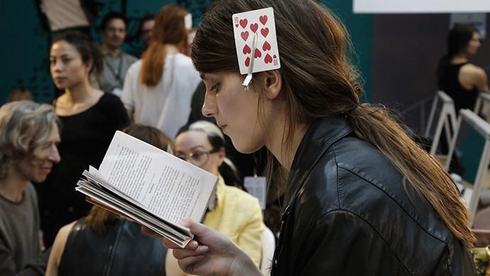 Model reading.