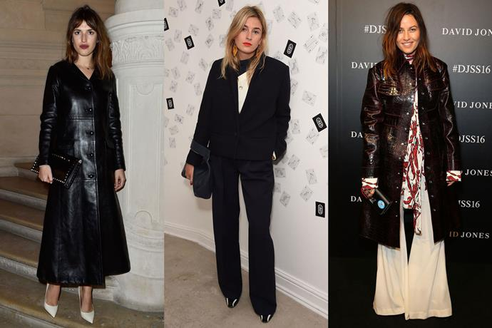 <strong>Paris</strong><br> Style icons: Jeanne Damas, Camille Charrière, Kym Ellery<br> MVP label: Ellery<br> Last thing you bought: A lint roller<br>