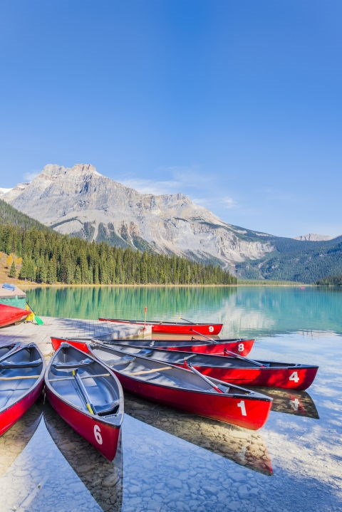 <strong>Emerald Lake, Yoho National Park, Canada</strong><br> A Great Alternative To . . . Thailand<br> If you're okay trading palm trees for pine trees, Emerald Lake in British Columbia's Yoho National Park offers similar activities to what you'd find on Thailand's tropical coast—including canoeing and rock climbing surrounded by a stunning natural landscape.