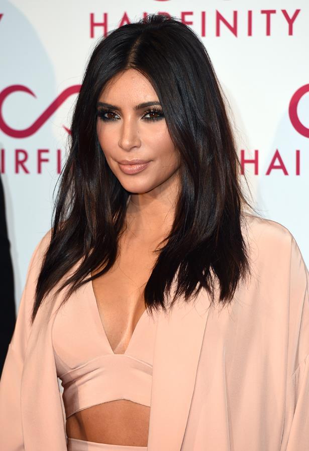 <P> <em>For brunettes.</em><p> <p> Kim Kardashian.