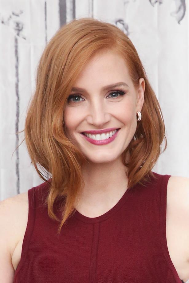 <P> <em>For redheads.</em><p> <p> Jessica Chastain.