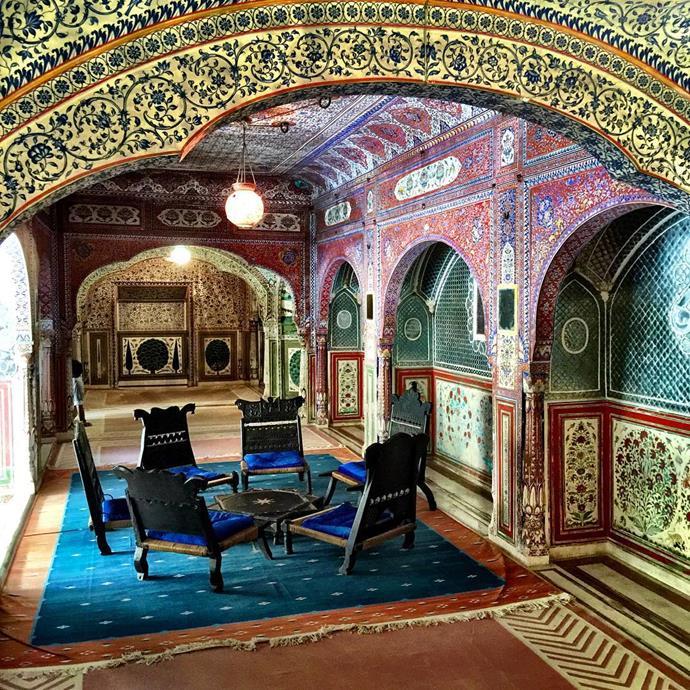 Samode Palace<br> <em>Jaipur, India</em>