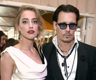 Johnny Depp and Amber Heard.