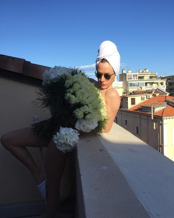 "Chloë Sevigny <a href=""https://www.instagram.com/chloessevigny/"">@chloesevigny</a>"