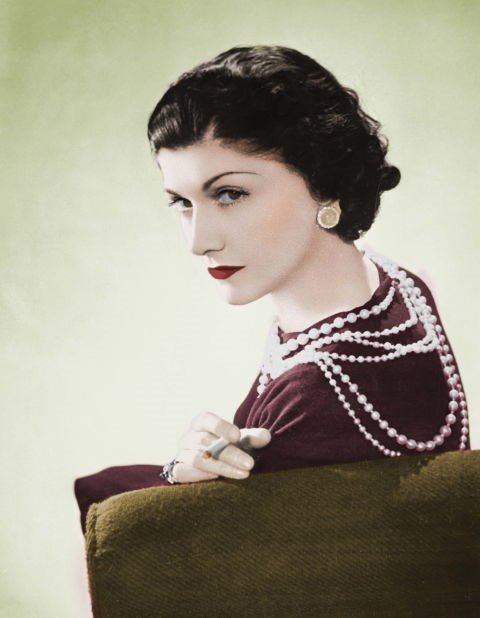 Coco Chanel's pearls.