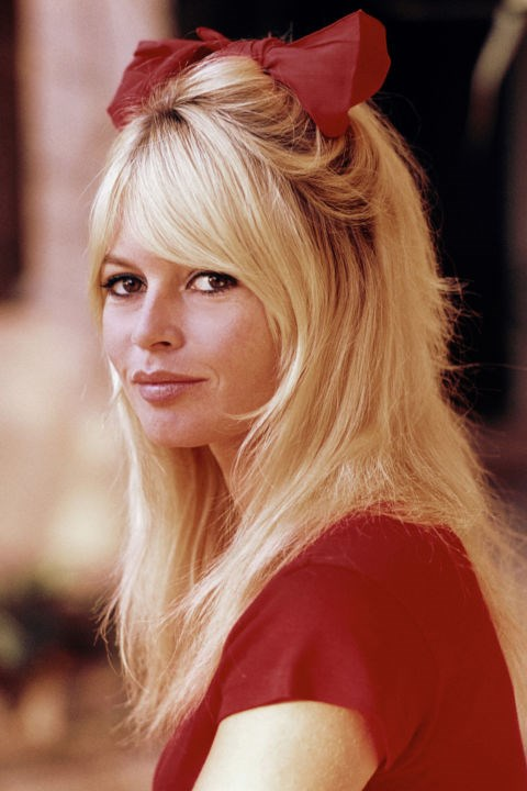 Bridget Bardot's bow.