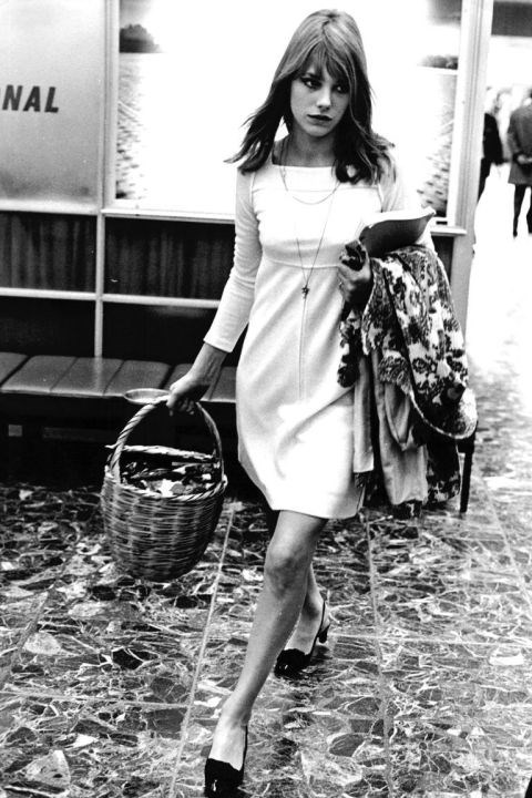Jane Birkin's straw basket.
