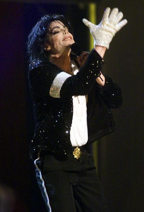 Michael Jackson's white glove.