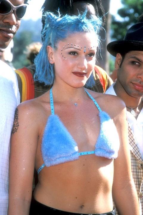 Gwen Stefani's bindi.
