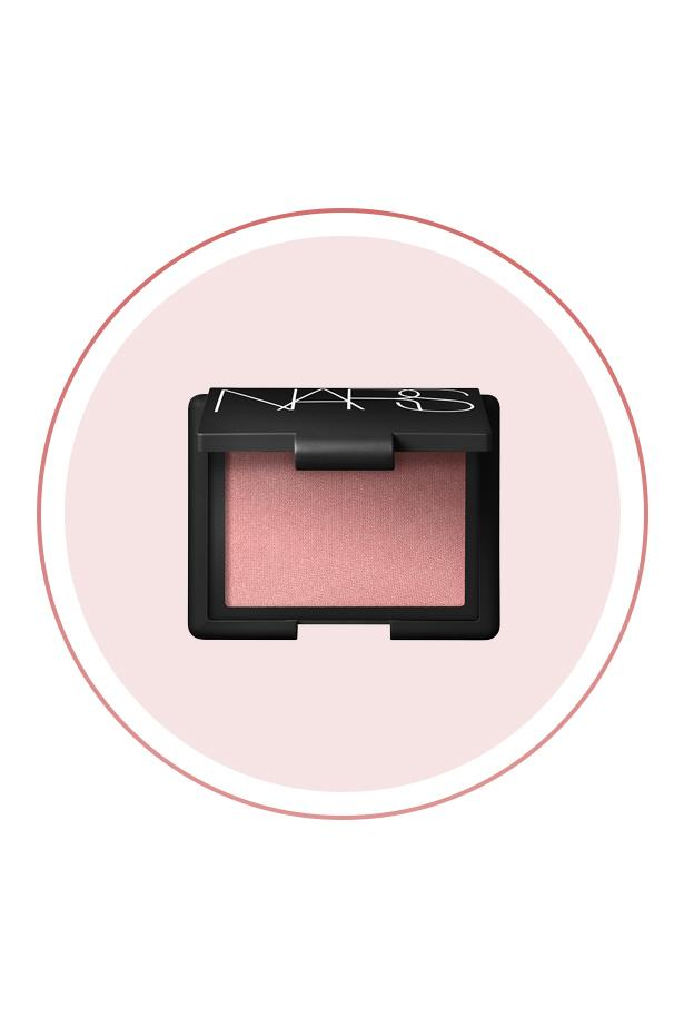 """<p> The Product: <a href=""""http://mecca.com.au/nars/blush/V-000376.html"""">NARS Blush in 'Orgasm'</a>.<p> <p> The Hype: Despite the naughty name, Orgasm is the perfect natural, easy blush that look seamless on your skin."""