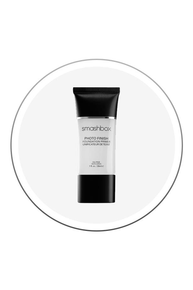 """<p> The Product: <a href=""""http://mecca.com.au/smashbox/photo-finish-foundation-primer/V-011712.html"""">Smashbox Photo Finish Foundation Primer</a>.<p> <p> The Hype: Whether you buy it in its orignal form, or in its colour-correcting variations, this baby will make your foundation look smooth and last all day, every time."""