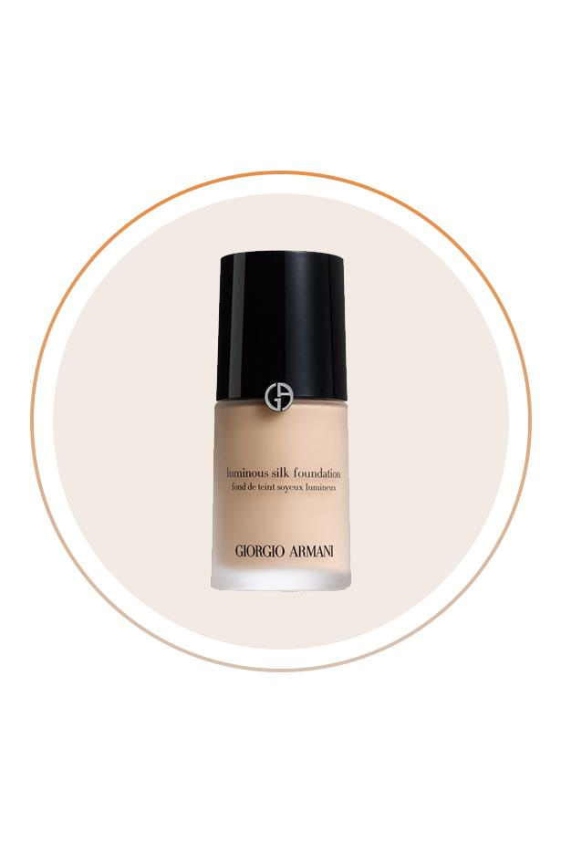 """<p> The Product: <a href=""""http://shop.davidjones.com.au/djs/en/davidjones/luminous-silk-foundation"""">Armani Luminous Silk Foundation</a>.<p> <p> The Hype: There's a reason half the ELLE Editors in the office swear by this one (and it's not its pretty packaging)."""