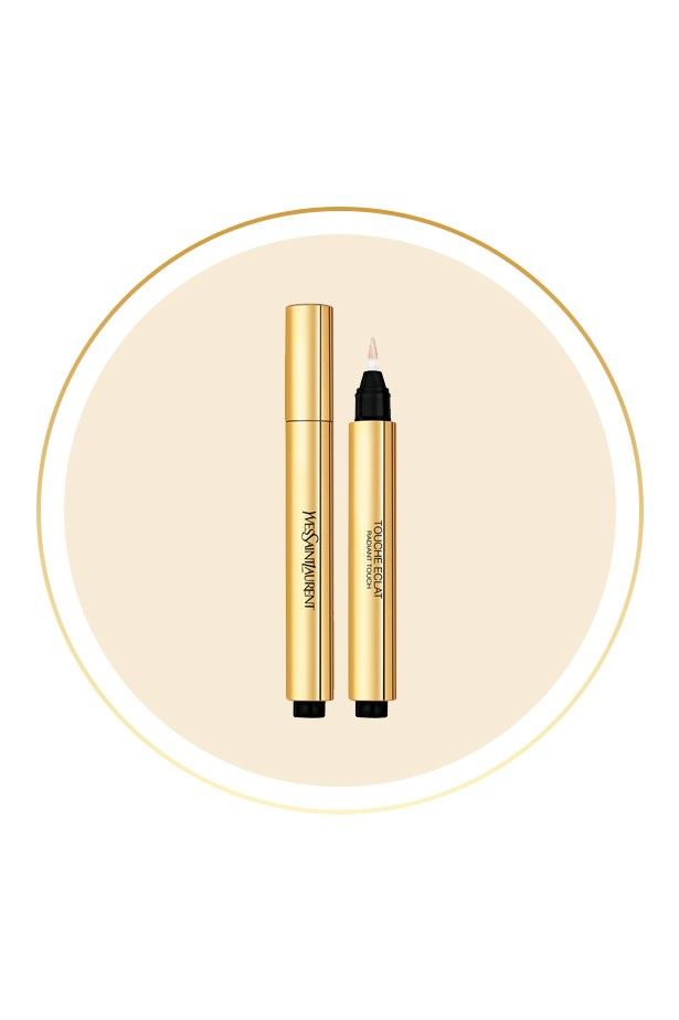 "<p> The Product: <a href=""http://mecca.com.au/yves-saint-laurent/touche-eclat-radiant-touch/V-009111.html"">Yves Saint Laurent Touche Éclat</a>.<p> <p> The Hype: A brilliant hybrid between a concealer and a highlighter, this click pen brings light and dimension back into the face."
