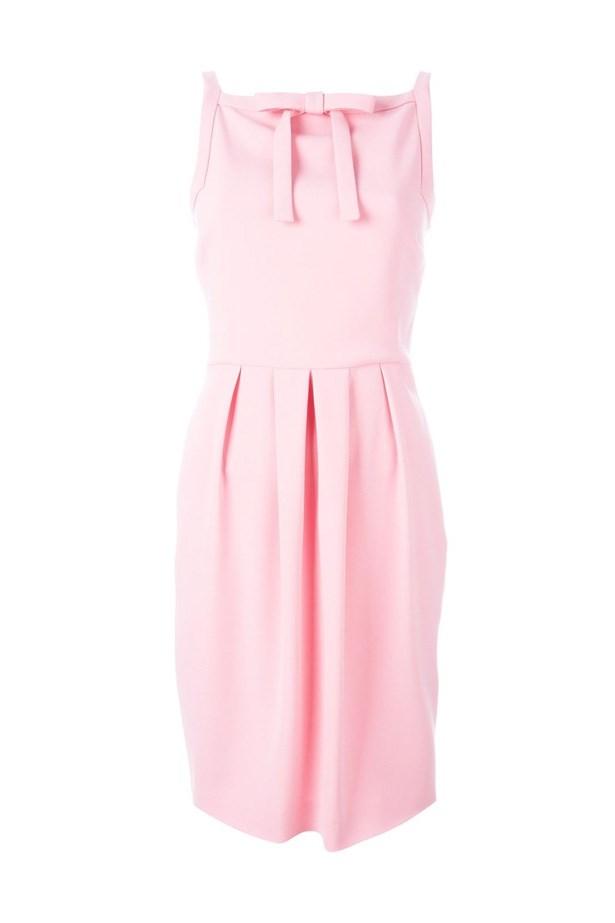 "Dress, $299, <a href=""http://www.farfetch.com/au/shopping/women/boutique-moschino-bow-detail-dress-item-11423010.aspx?storeid=9683&from=listing&tglmdl=1&ffref=lp_pic_865_1_lst"">Boutique Moschino at farfetch.com</a>."