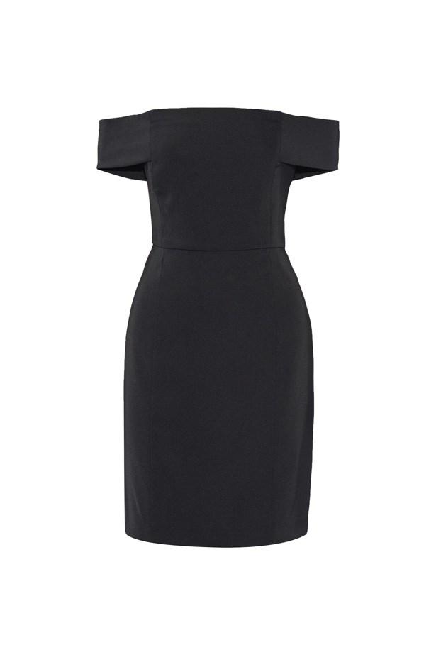 "Dress, $181, <a href=""https://www.theoutnet.com/en-US/product/Rebecca-Minkoff/Diana-off-the-shoulder-woven-mini-dress/778849"">Rebecca Minkoff at theoutnet.com</a>."