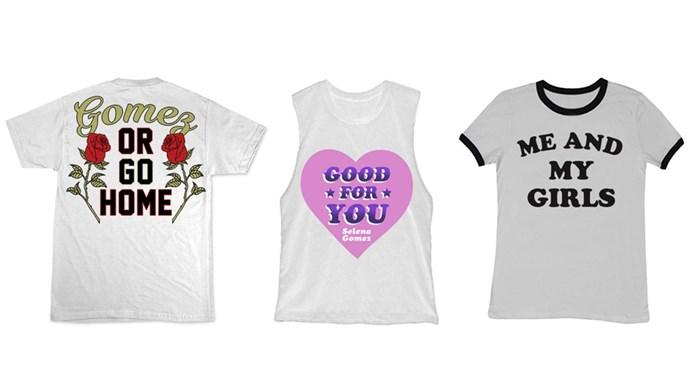 """<a href=""""https://www.selenagomez.com/store"""">Selena Gomez</a>"""