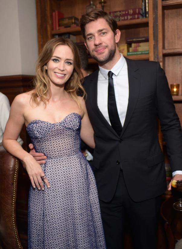 """<p>Try to not get teary as John talks about <a href=""""http://www.thedailybeast.com/articles/2016/01/25/john-krasinski-criticizes-politicians-for-exploiting-13-hours-i-think-it-s-pretty-disgusting.html#pq=JdzL7L"""">how his life changed</a> when he met Emily: """"I was never the coolest kid on the block, so I never had the 'good ol' days' of a playboy type of lifestyle… So for me, the best days of my life started when I met my wife—that's the truth, it's not just me saying it because it sounds nice on a card. She's one of the coolest people, she's so talented, she's beautiful, and she's certainly out of my league. And so all of a sudden all of the things I loved, I got to find someone who loved that about me. There was a lot of my life that she hadn't experienced and a lot of her life that I hadn't experienced, so all of a sudden we got to start doing things that <em>we</em> liked."""" Far out, John!</p>"""
