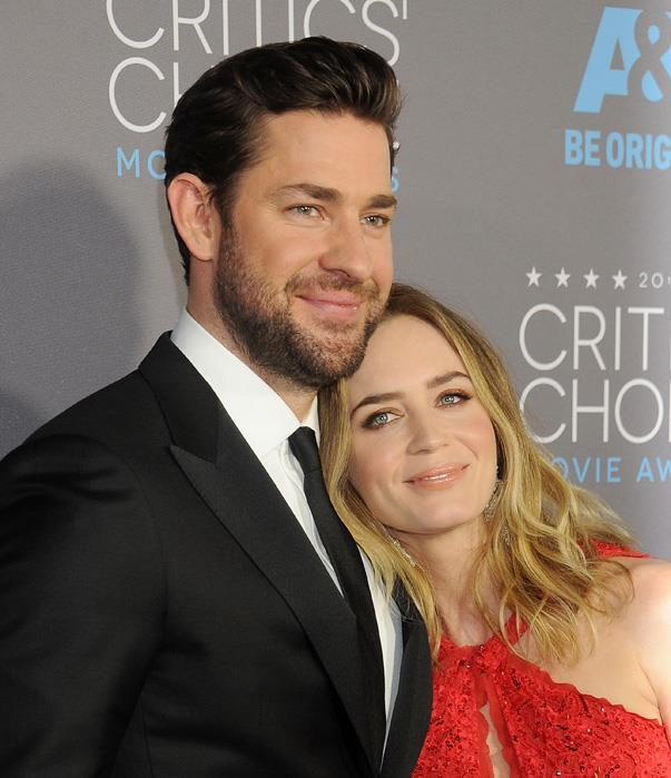 """<p>When John described to Stephen Colbert the first time he met Emily Blunt, he had to reenact it, because he was pretty much <a href=""""http://time.com/4169180/jon-krasinski-emily-blunt-stephen-colbert/"""">lost for words</a>. """"When I met her, I was so nervous,"""" he recalled. """"Everyone was like, 'What was your line?' and it was just this [opens mouth].""""</p>"""