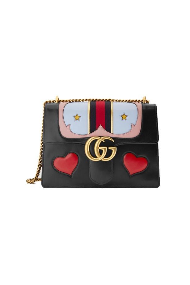 """Bag, $4615, <a href=""""https://www.gucci.com/au/en_au/pr/women/handbags/womens-shoulder-bags/gg-marmont-leather-shoulder-bag-p-431382CDZJT1064?position=34&listName=ProductGridComponent&categoryPath=Women/Handbags/Womens-Shoulder-Bags"""">Gucci</a>"""