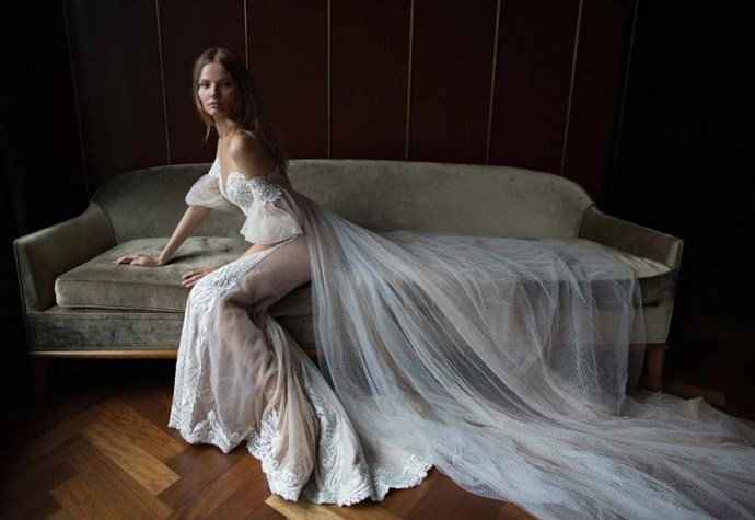<p>TAURUS<p> <p> For someone as sensual as you, the off-the-shoulder trend that's on fire right now would be perfect on your wedding day. Not only are you romantic AF, you love pretty things, and there's something so incredibly gorgeous about a bare shoulder with fabric draped along the arm.