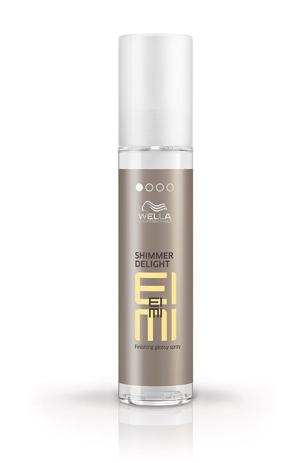 """We love a hair hack as much as we love an extra 10 minutes of sleep – and now we can have both thanks to a little shine spray. """"Try using it with cool air from the dryer to freshen up yesterday's style. It gives separation and great texture,"""" says hairstylist Travis Balcke. <br><br> <em>EIMI Shimmer Delight, $24.95, Wella Professionals, wella.com</em>"""