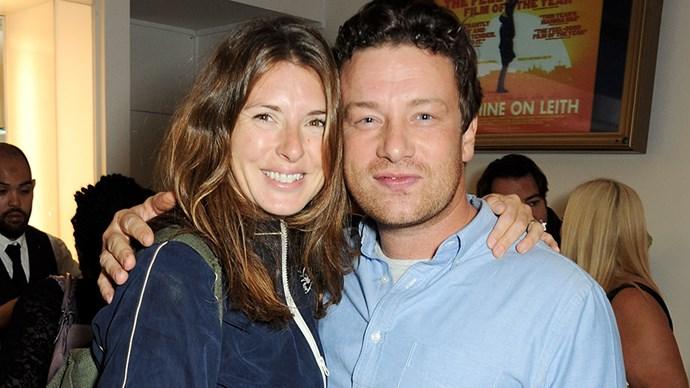 Jamie Oliver and Jools.