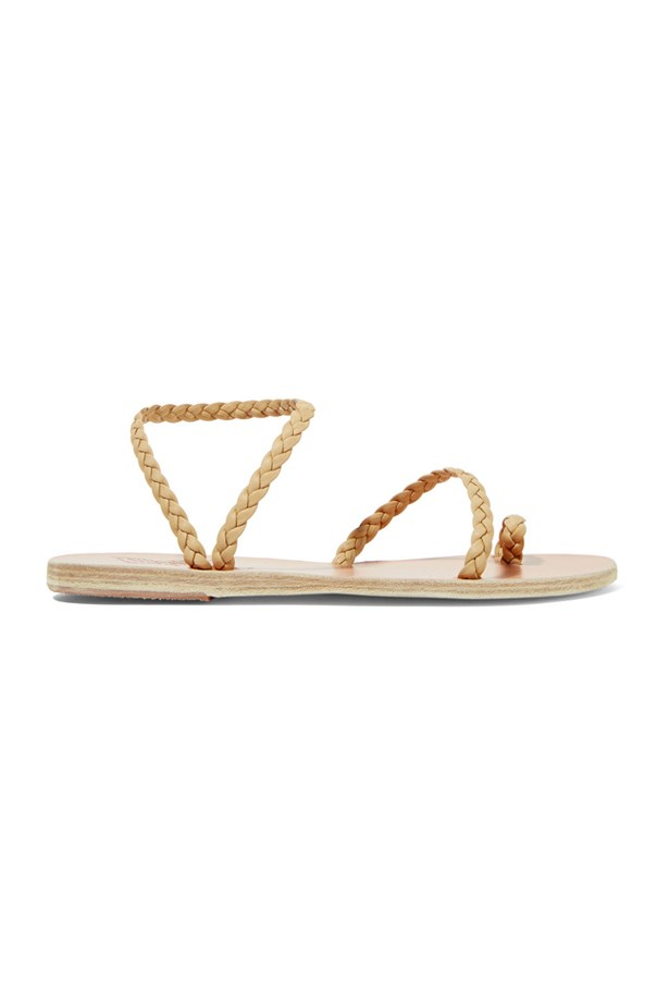 "<P><strong>FOR THE BEACH BRIDE</strong><P> <P> Sandals, $210, <a href=""https://www.net-a-porter.com/au/en/product/723502/ancient_greek_sandals/eleftheria-braided-leather-sandals"">Ancient Greek via net-a-porter.com</a>."