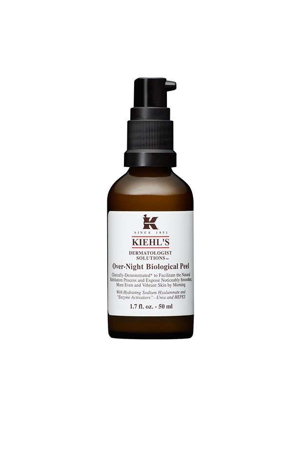 "<strong>Over-Night Biological Peel </strong><br><br> Don't let the word ""peel"" scare you away, the gentle formula works to exfoliate and minimise blemishes while brightening and moisturising. What more could you need?<br><br> <em>Over-Night Biological Peel, $74, Kiehl's, Kiehls.com.au  </em>"