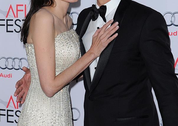Angelina Jolie and Brad Pitt on Red Carpet
