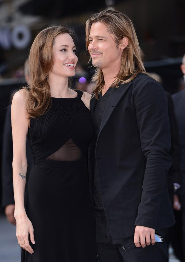 """<p>This is how Brad gushed about Angelina in <em><a href=""""http://www.eonline.com/news/584364/brad-pitt-feels-like-the-richest-man-alive-calls-fatherhood-the-most-beautiful-thing-ever"""" target=""""_blank"""">Psychologies</a></em> magazine: """"Angelina is just amazing. I'll be tired and lie down on the sofa and then she'll keep going until late at night. And that makes me feel like, 'Why am I taking it easy?' so I'll go help out and play with the boys and get them to bed. You realise that you always have the energy inside you, and as a parent you need to have a lot of willpower."""" Now that's teamwork.</p>"""