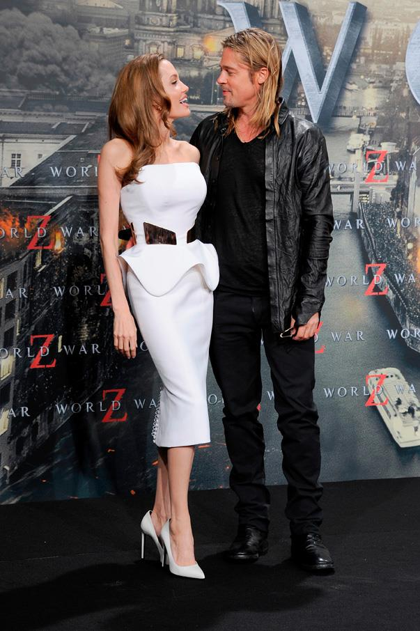 """<p>In an interview with U.S. <em>Today</em> in late 2014, <a href=""""http://www.today.com/popculture/angelina-jolie-reveals-how-marriage-has-changed-life-brad-pitt-1D80311476"""" target=""""_blank"""">Angelina said</a>, """"We have more moments where I say, 'I'm going to be a better wife,' 'I'm going to learn to cook.' And [Brad] says, 'Oh, honey, know what you're good at'... But I do like, 'No, no, no, I'm going to get this wife thing down.' He knows my limitations and where I'm a good wife and a good mom.""""</p>"""
