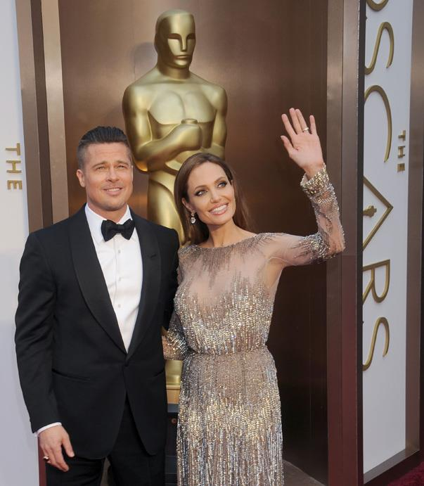 """<p>""""I get up some mornings and gasp,"""" Brad said of <a href=""""http://www.eonline.com/news/72413/brad-pitt-angie-s-beauty-makes-me-gasp"""" target=""""_blank"""">Angelina's beauty</a> in 2008."""