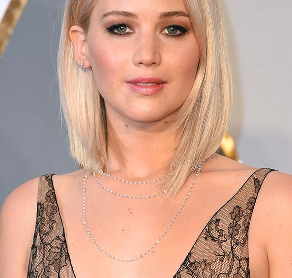 Jennifer Lawrence at 2016 Oscars