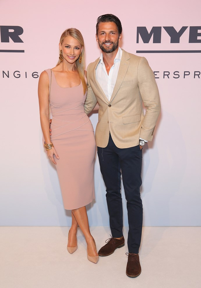 Anna Heinrich and Tim Robards