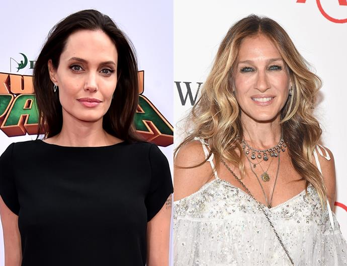 <p><strong>2011: Angelina Jolie and Sarah Jessica Parker</strong> <p>Angelina and SJP earned an estimated US$30 million each.
