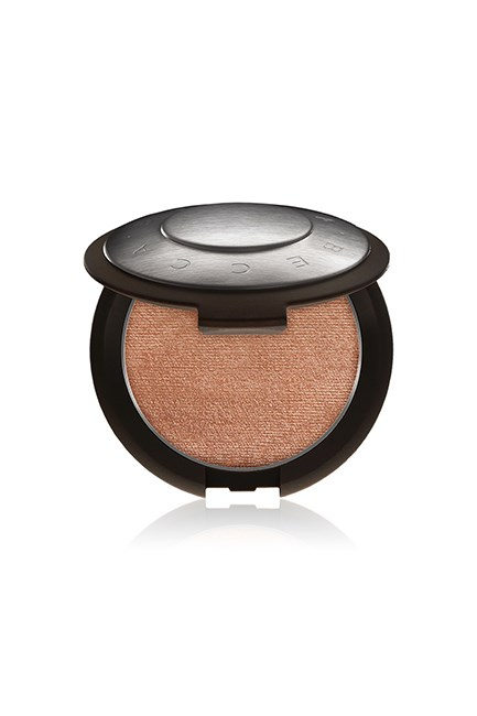 "Shimmering Skin Perfector Pressed in Rose Gold, $60, <a href=""http://www.sephora.com.au/products/becca-shimmering-skin-perfector-pressed/v/moonstone-95fd7274-60d7-4b1c-8143-16a2a0987925"" target=""_blank"">Becca at sephora.com.au</a>."