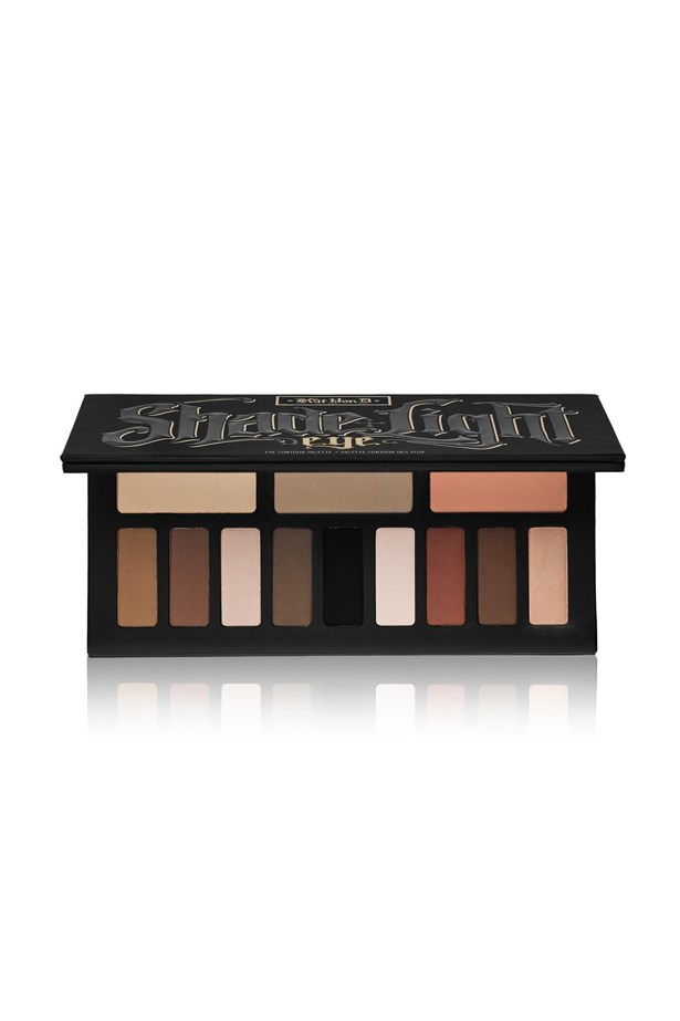 """<p> <a href=""""http://www.sephora.com.au/products/kat-von-d-shade-and-light-contour-eye"""">Kat Von D 'Shade + Light Eye Contour Palette'</a><p> <p> Focusing on warm-toned shades, this eyeshadow palette comes with 12 neutral, matte shades."""