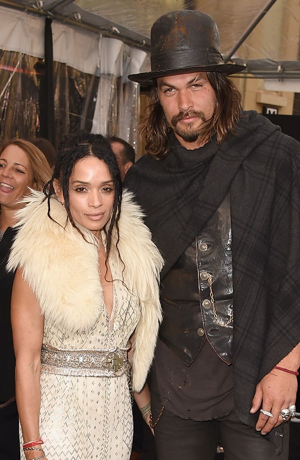 <p><strong>Lisa Bonet and Jason Momoa</strong> <p>Jason and Lisa are quite a private couple but occasionally Jason will gush about his wife on his Instagram page. They met in 2005 through mutual friends and got married in November 2007. They have a daughter and son together, and Lisa has her daughter Zoë from her previous relationship with Lenny Kravitz.
